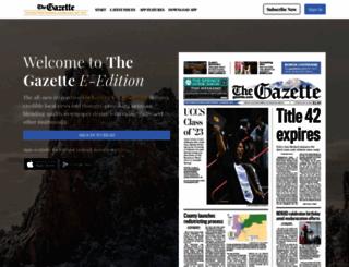 daily.gazette.com screenshot