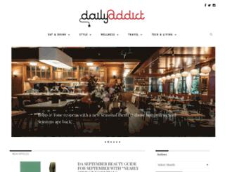 dailyaddict.com.au screenshot