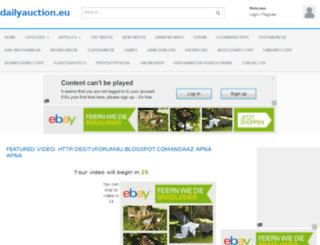 dailyauction.eu screenshot