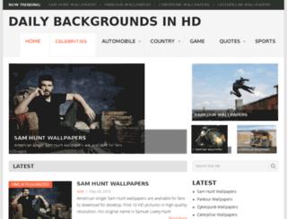 dailybackgrounds.com screenshot