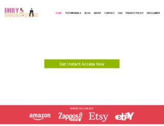 dailybargainstore.com screenshot
