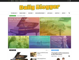 dailybloggr.com screenshot