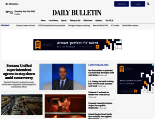 dailybulletin.com screenshot
