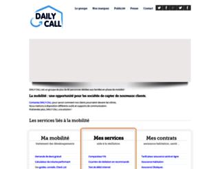 dailycall.fr screenshot
