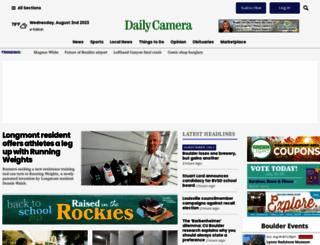 dailycamera.com screenshot