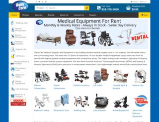 dailycareinc.com screenshot