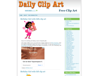 dailyclipart.net screenshot
