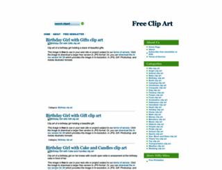 dailyclipart.net screenshot