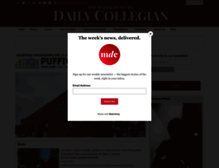 dailycollegian.com screenshot