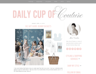 dailycupofcouture.blogspot.co.uk screenshot