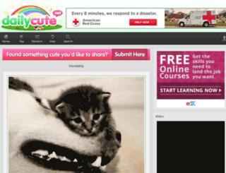 dailycute.net screenshot