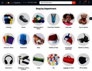 dailydeals.dollardays.com screenshot