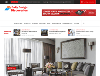 dailydesigndiscoveries.com screenshot