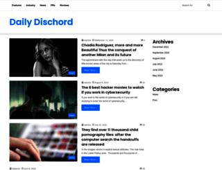dailydischord.com screenshot