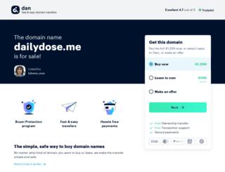 dailydose.me screenshot