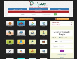 dailyees.in screenshot