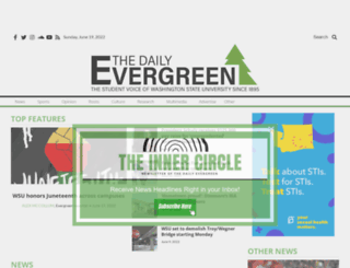dailyevergreen.com screenshot