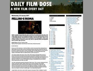 dailyfilmdose.blogspot.com screenshot