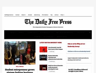 dailyfreepress.com screenshot