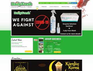 dailyfreshfoods.com screenshot