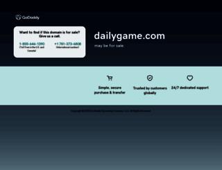 dailygame.com screenshot