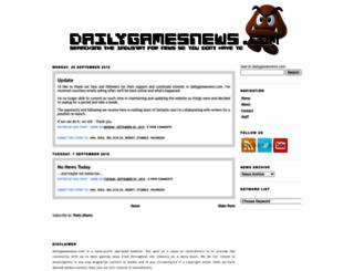 dailygamesnews.com screenshot