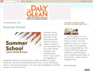 dailyglean.salebooks.com screenshot