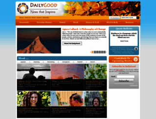 dailygood.servicespace.org screenshot