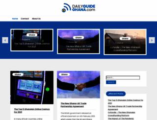 dailyguideghana.com screenshot