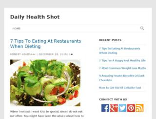 dailyhealthshot.com screenshot