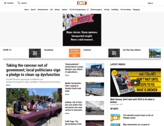 dailyheraldtribune.com screenshot