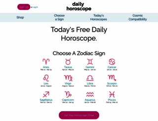dailyhoroscope.com screenshot