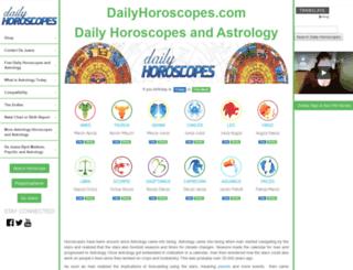 dailyhoroscopes.com screenshot