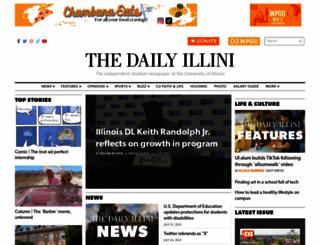 dailyillini.com screenshot
