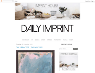 dailyimprint.blogspot.com screenshot