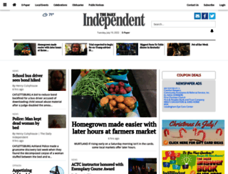 dailyindependent.com screenshot