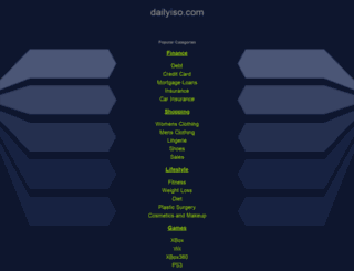 dailyiso.com screenshot