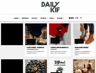 dailykif.com screenshot