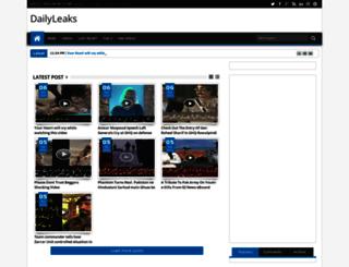dailyleakz.blogspot.com screenshot