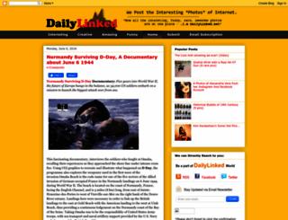dailylinked.blogspot.com screenshot