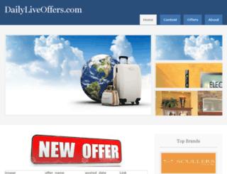 dailyliveoffers.com screenshot
