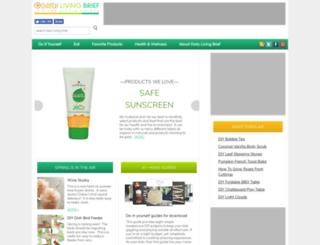 dailylivingbrief.com screenshot