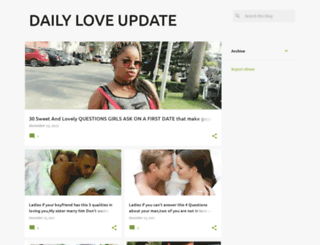 dailyloveupdate.blogspot.com.ng screenshot