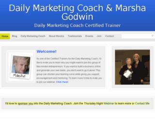 dailymarketingcoach.net screenshot