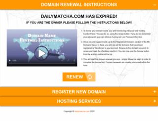 dailymatcha.com screenshot