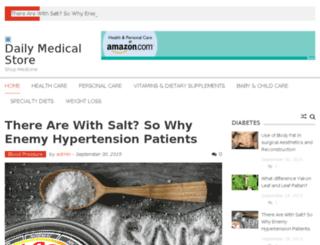 dailymedicalstore.com screenshot