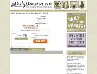 dailymemories.com screenshot