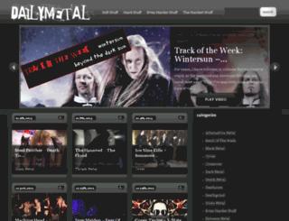 dailymetal.com screenshot