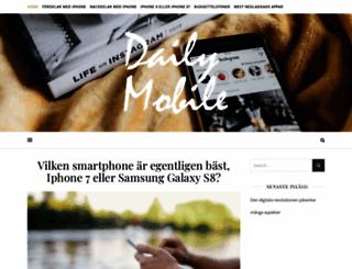 dailymobile.se screenshot