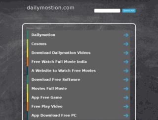 dailymostion.com screenshot